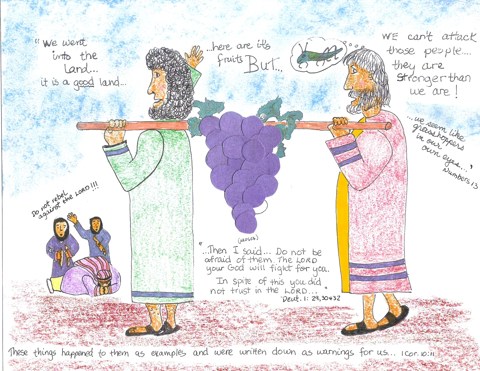 Free Bible Story Craft Ideas Aunties Lessons Page 15