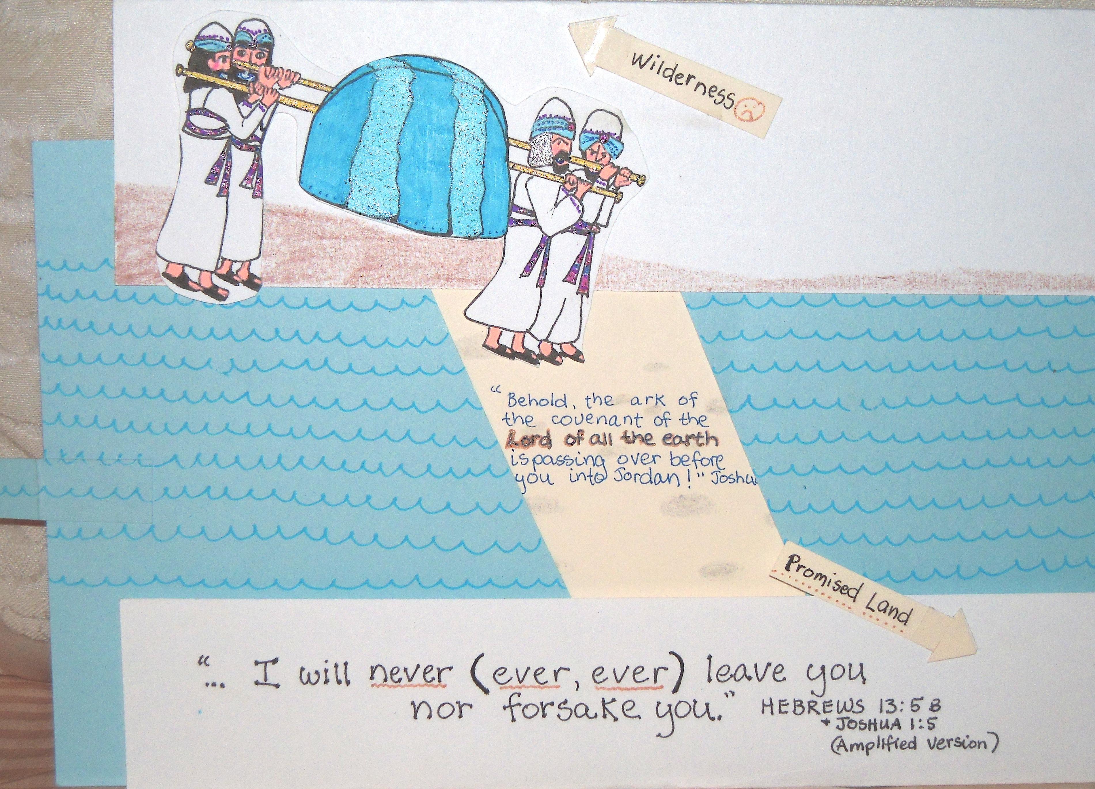 Jordan River | aunties bible lessons