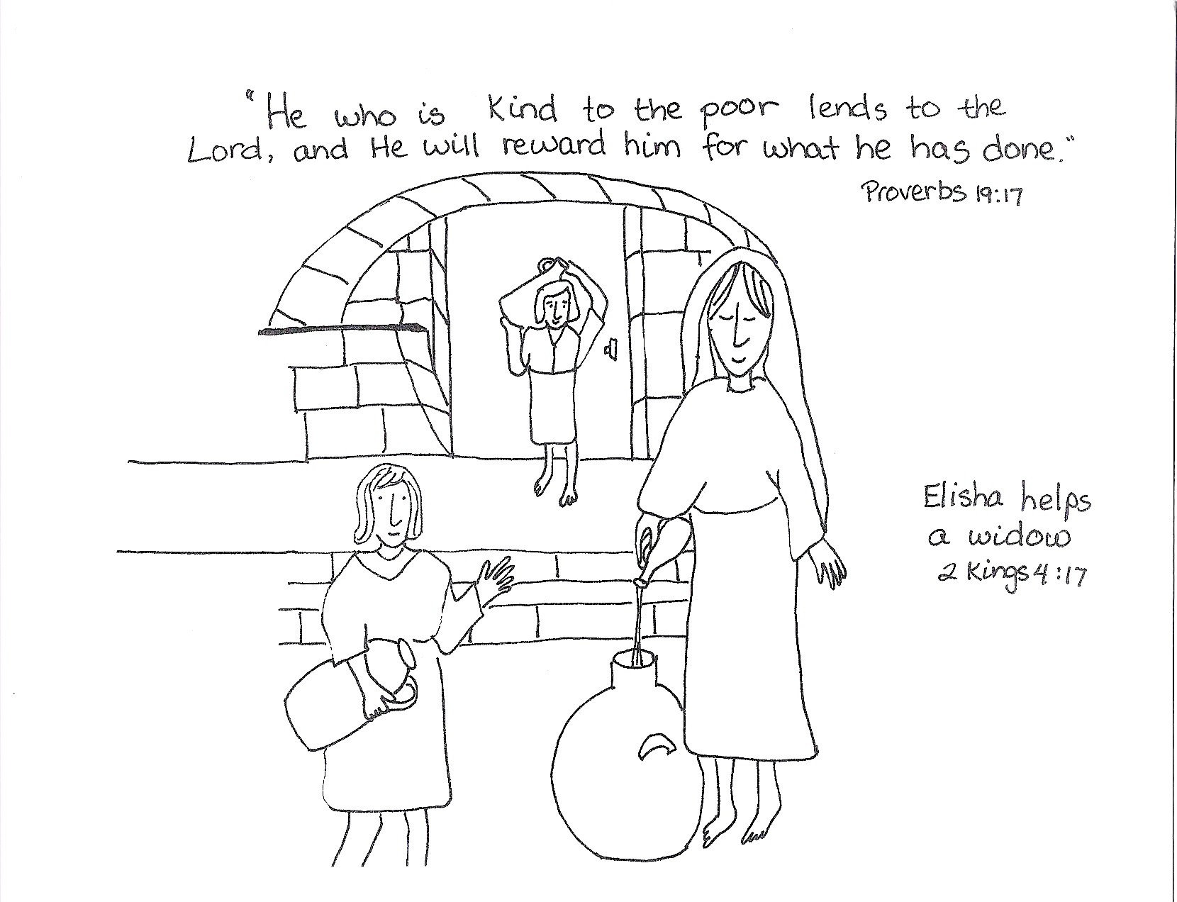 Free Coloring Pages Of Prophet Elijah And Elisha
