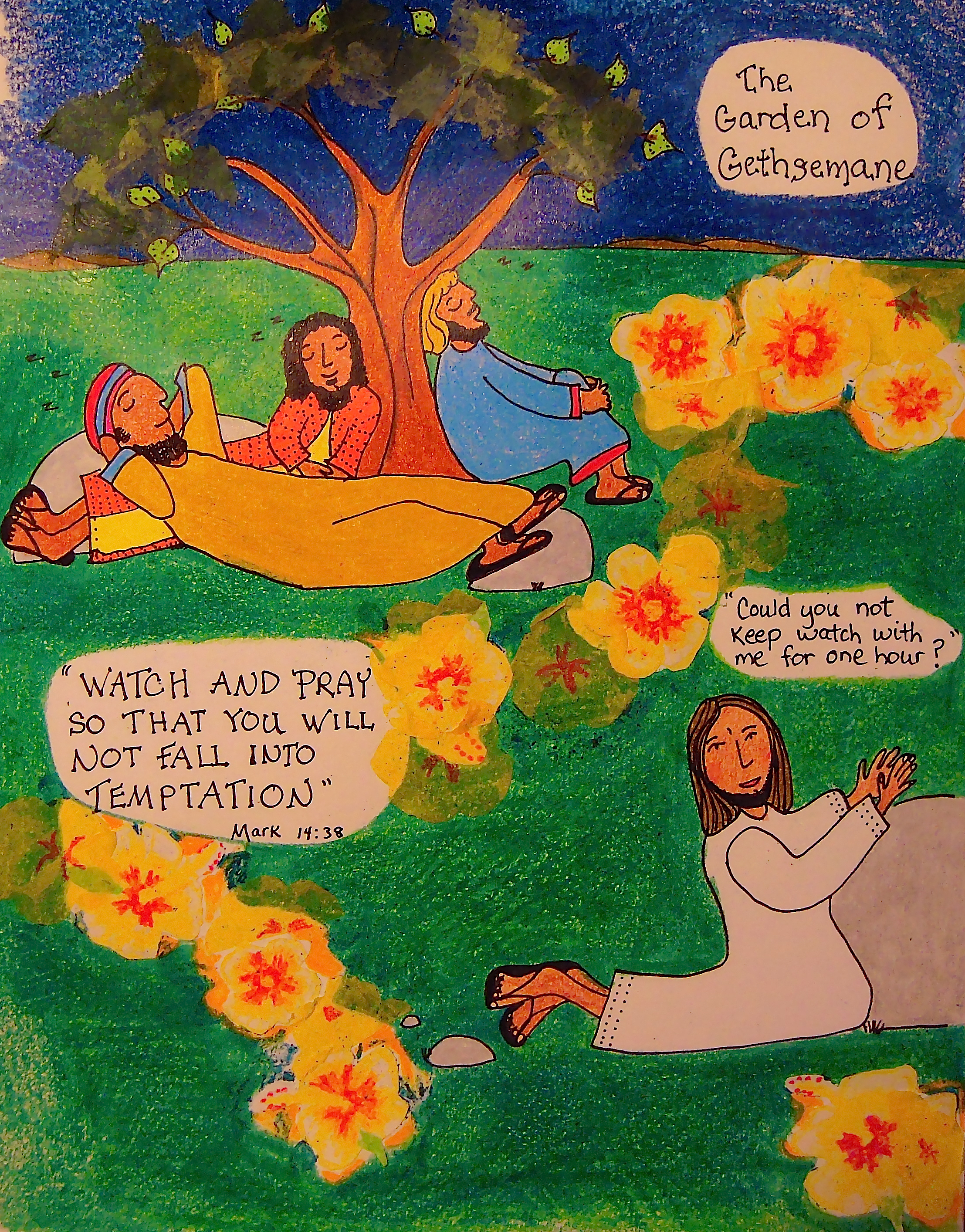 Gethsemane The Olive Press Aunties Bible Lessons