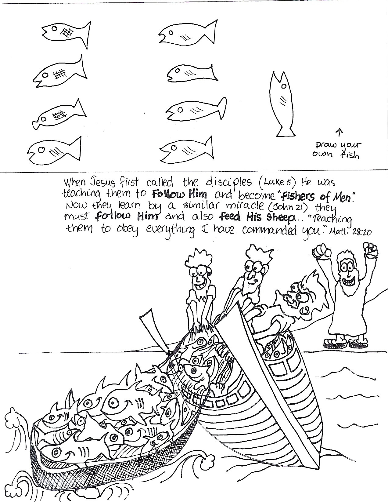 peter bible coloring pages - peter is restored aunties bible lessons