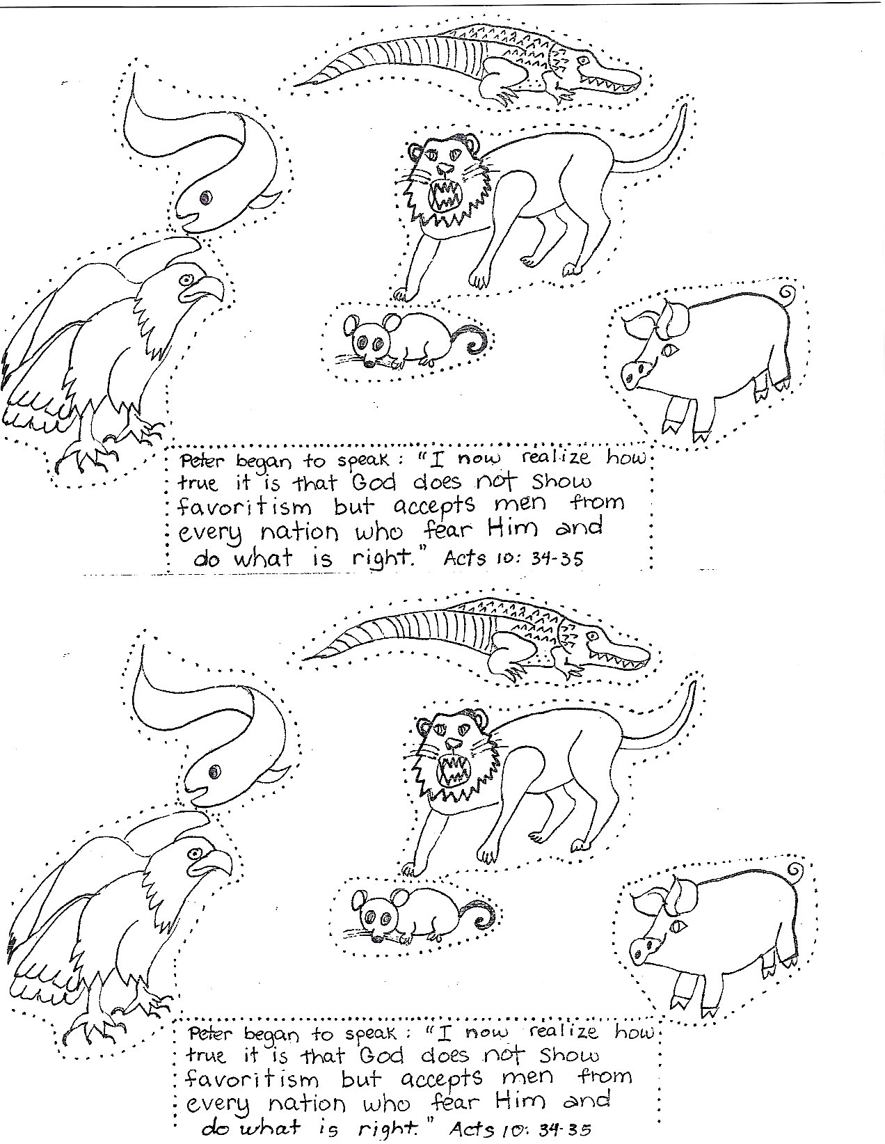 Free Cornelius Of The Bible Coloring Pages