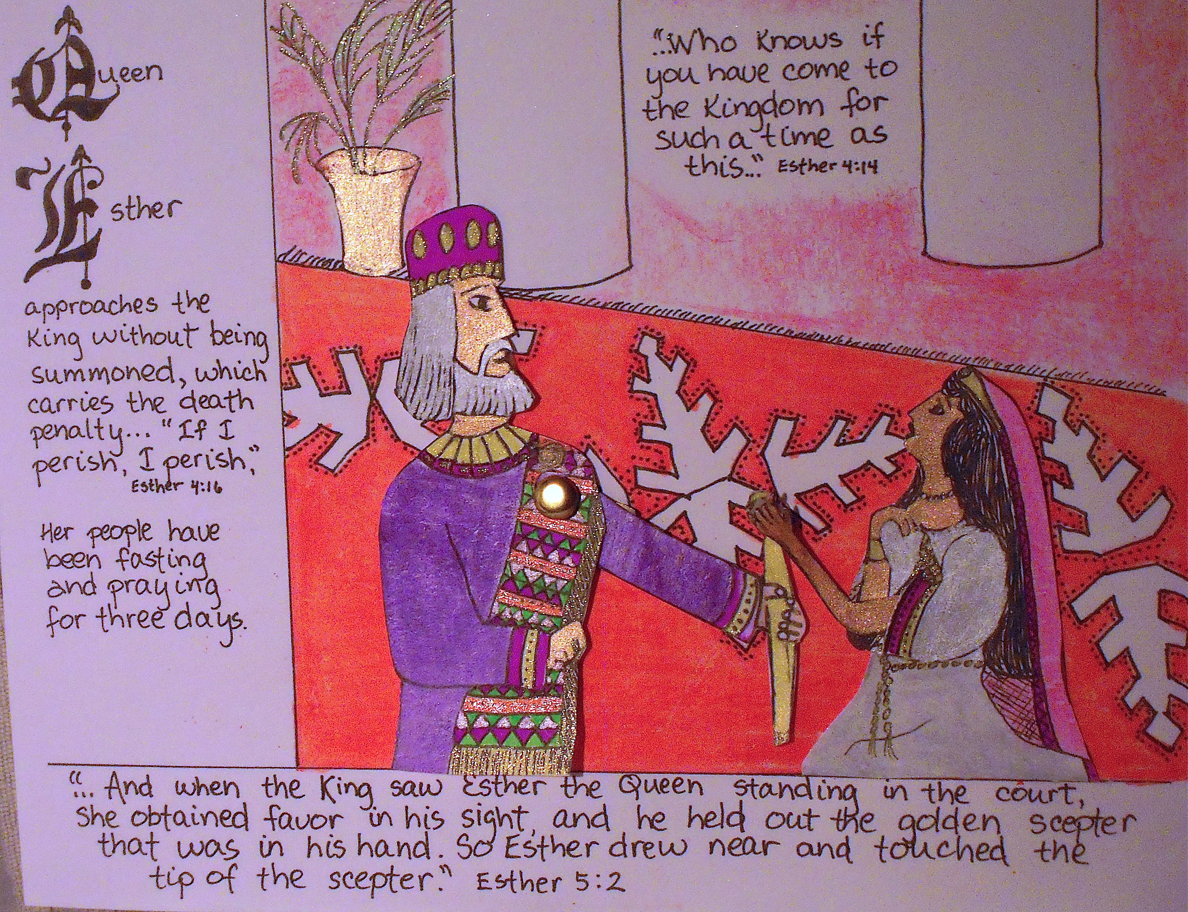 queen esther u2013 worksheets aunties bible lessons