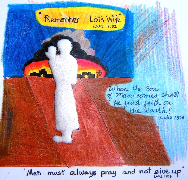 Remember Lot's wife - b