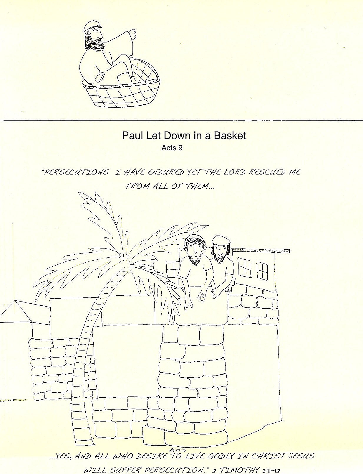 100 Acts Pauls Second Journey Paul And Silas In Prison
