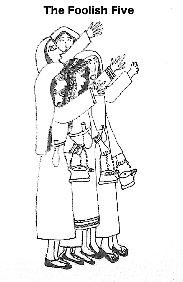 coloring pages 10 virgins - photo#20