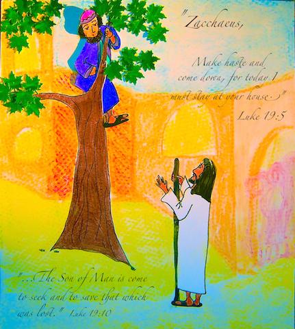 Zacchaeus is Found