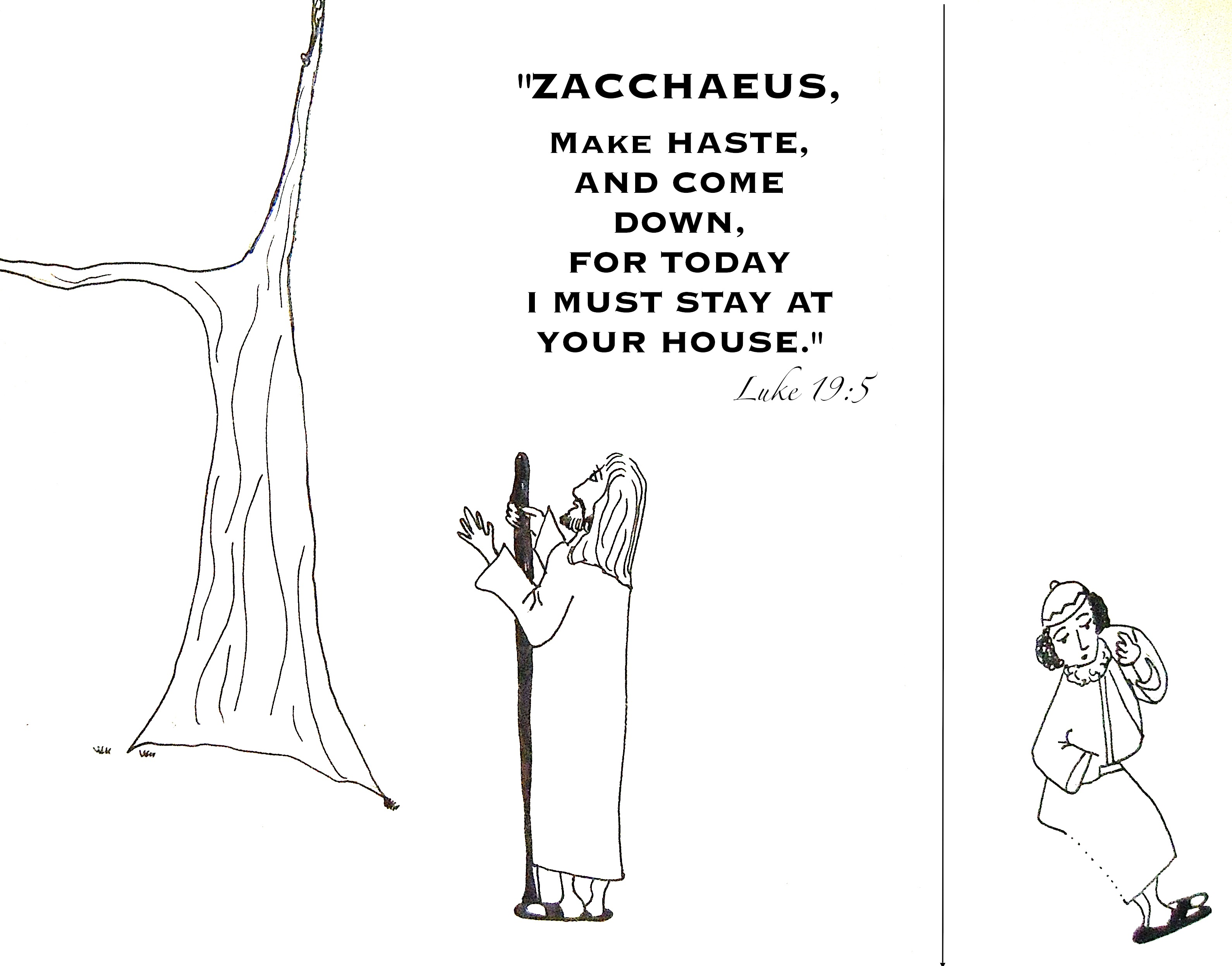 bible coloring pages zacchaeus - zacchaeus is found aunties bible lessons