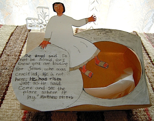 Empty Tomb craft - alternate